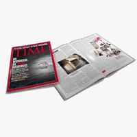 magazine 3D models