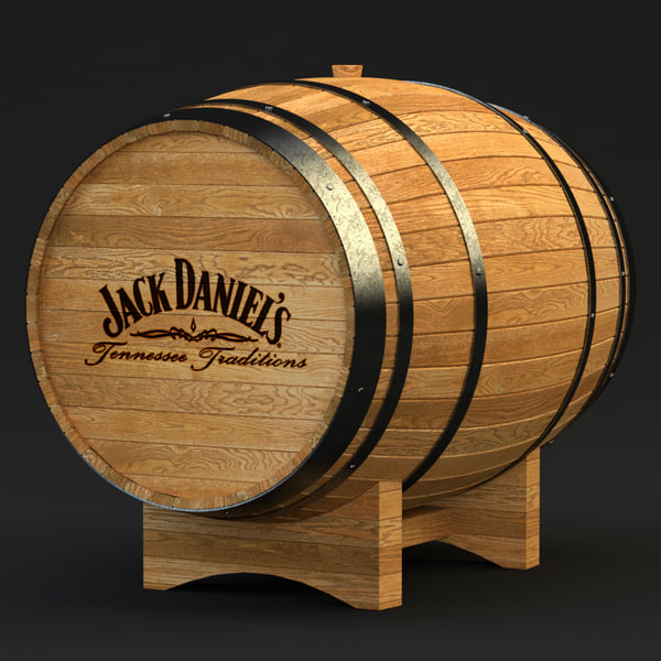 Whiskey Barrel 3D Models
