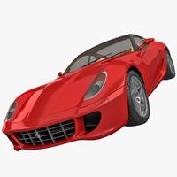 ferrari 599 3D models