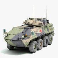 light armored vehicle 3D models