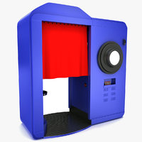 photo booth 3D models