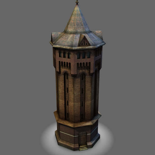 Shooters Hill Water Tower 3D Models