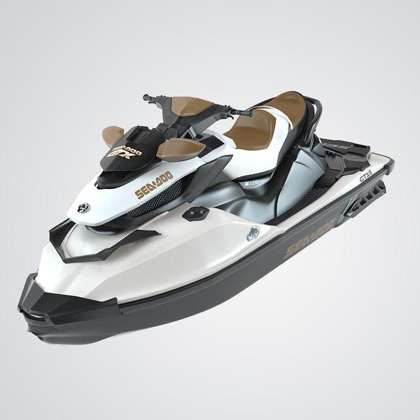 Sea-Doo GTX S 155 3D Models