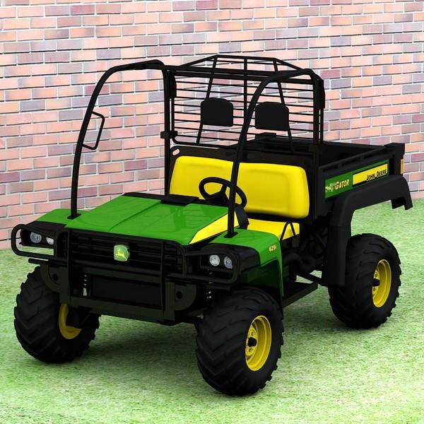 John Deere Gator XUV 625i 3D Models