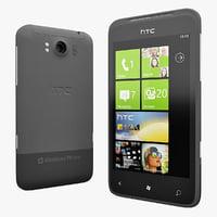 HTC 7 Series 3D models