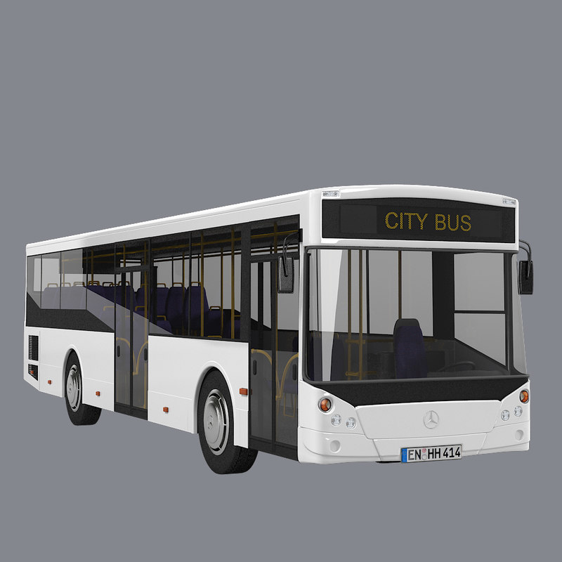 b Mercedes Benz City Bus vehice car wheel heavy modern contemporary passenger .jpg