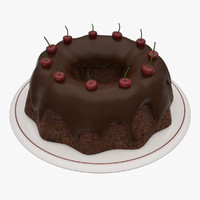 Chocolate Cake 3D models