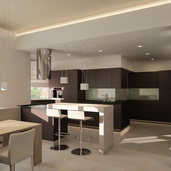 Living Room 3D Models