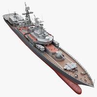 Submarine Chaser 3D models