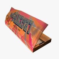 Cigarette Paper 3D models
