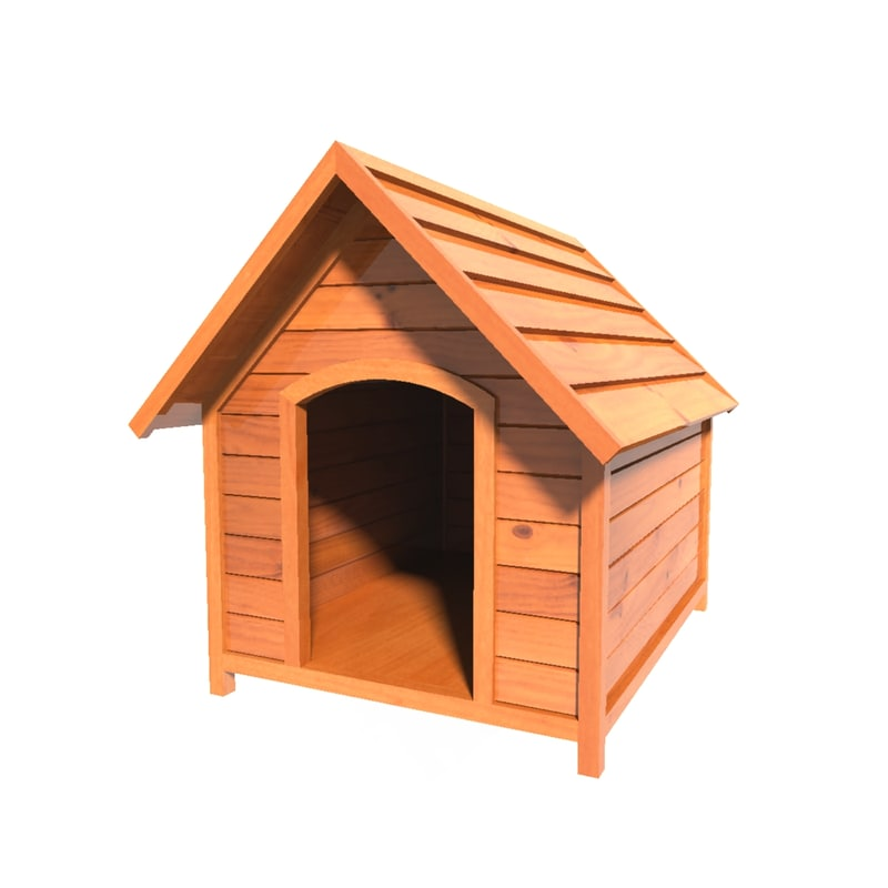 clipart of dog houses - photo #39
