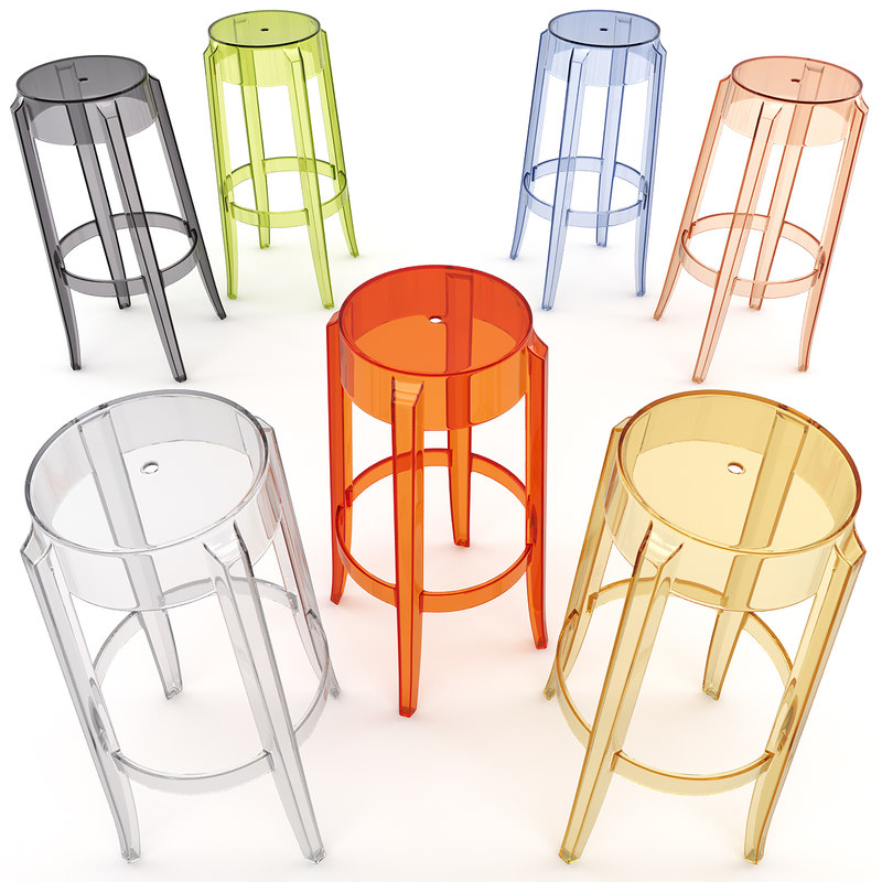 Charles Ghost Stool 4899