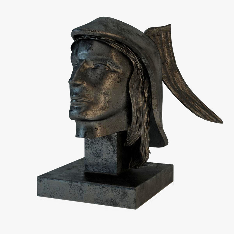 Hermes Bust Statue