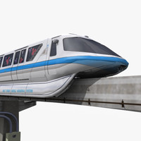 monorail 3D models
