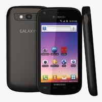 Samsung Galaxy S Blaze 3D models