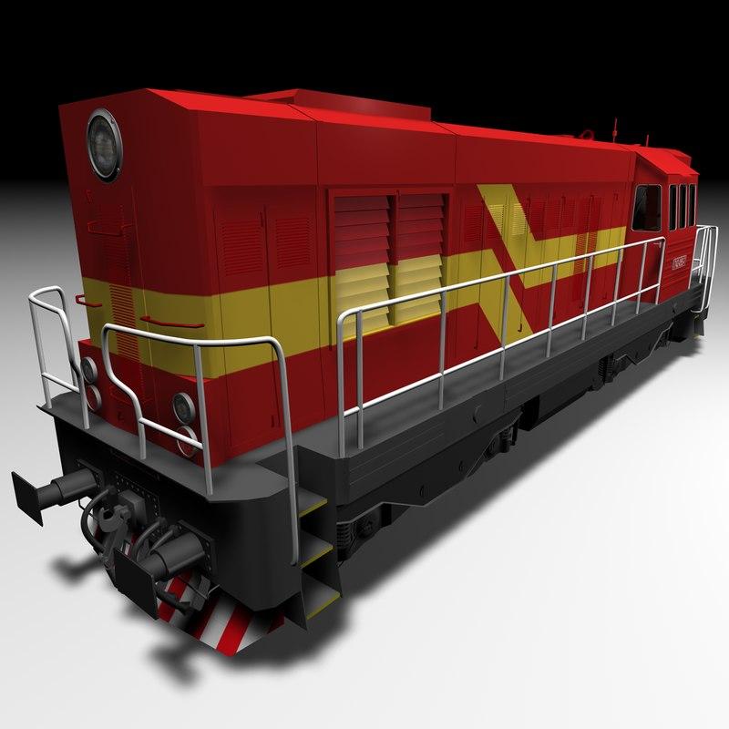 Diesel Locomotive CKD 742