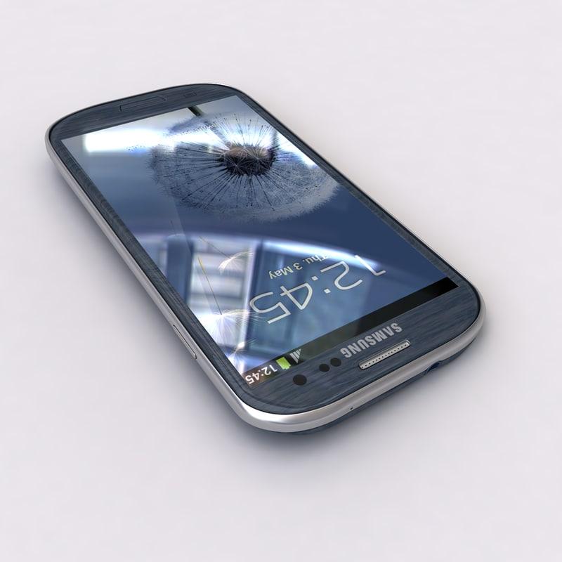 New Samsung Galaxy S3 Smartphone Blue