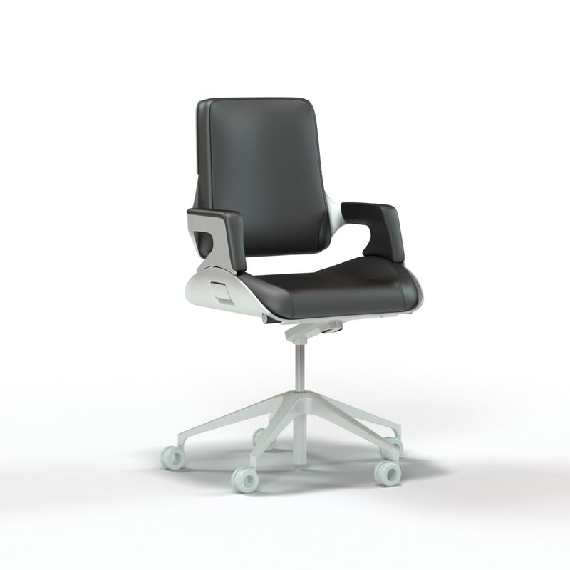 Interstuhl Silver Mid Back Office Chair