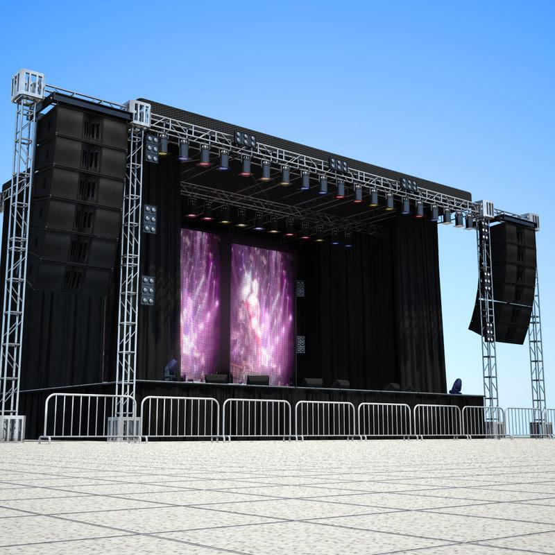 stage floor 3d - photo #26
