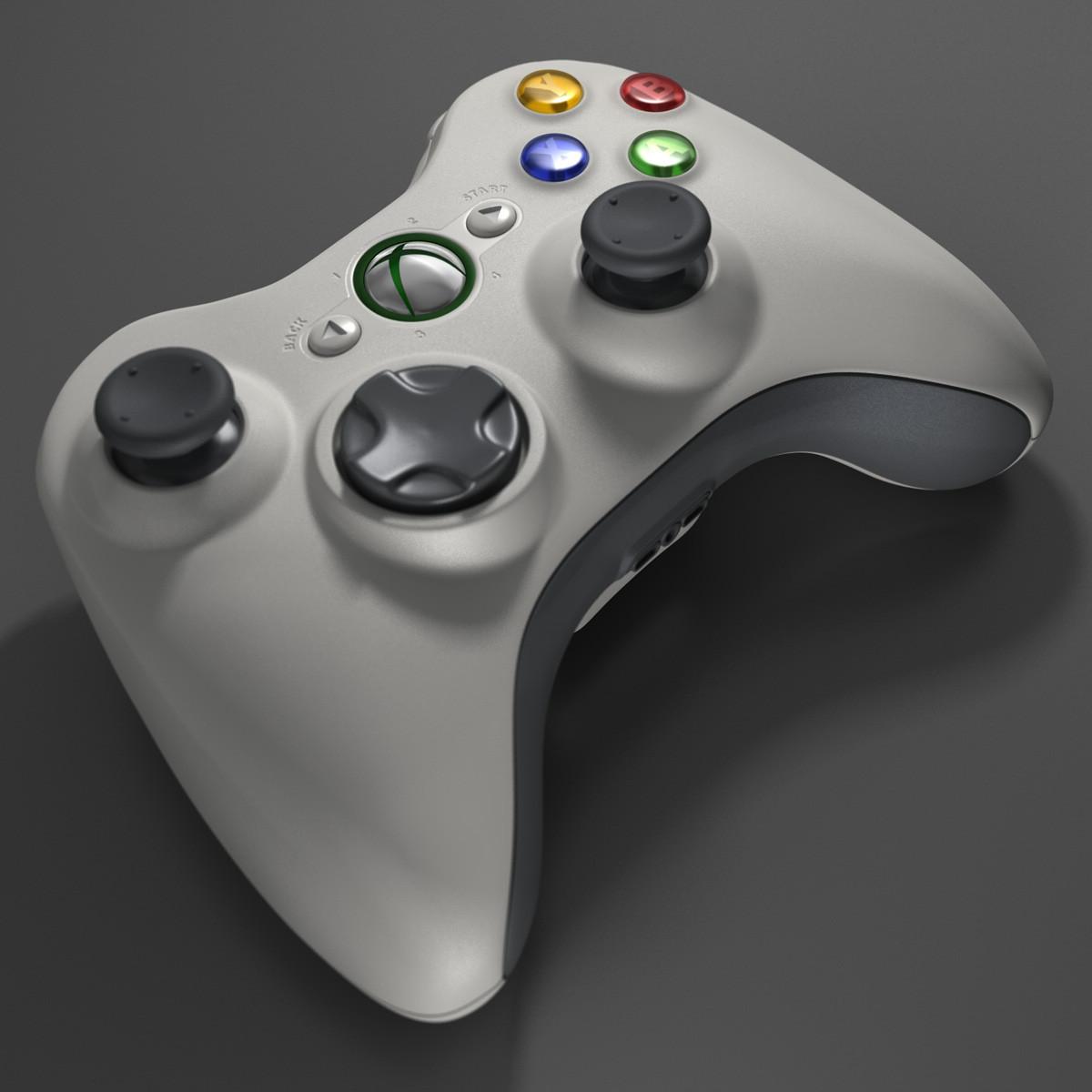 xbox 360 controller 3d c4dXbox 360 Controller