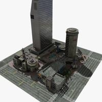 convention center 3D models