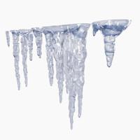 icicle 3D models
