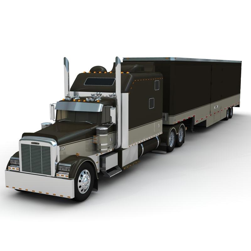 Freightliner Classic XL + trailer