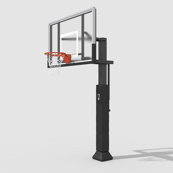 Basketball Hoop Pro 3D Models