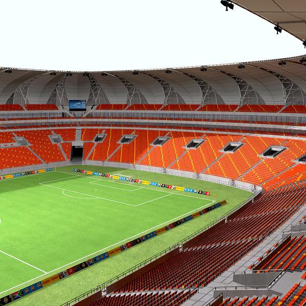 Nelson Mandela Bay Stadium 3D Models