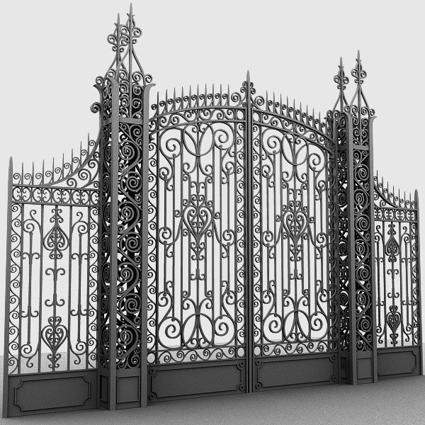 Gate Elegant 3D Models