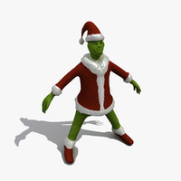 the grinch 3D models