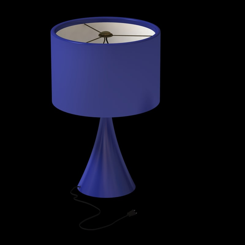 Blue Modern Lamp Dark.jpg