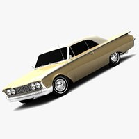 Ford galaxie 3D models
