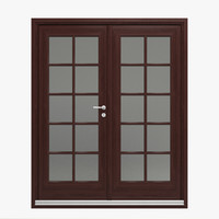 french door 3D models