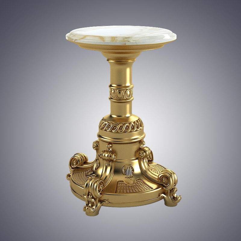 3d model small onyx table