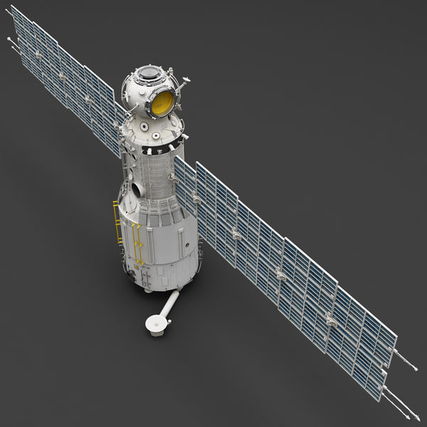 Space Service Module Zvezda 3D Models