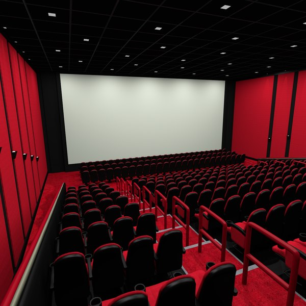 Movie Theater 3D Models