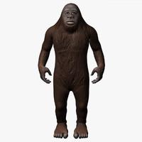 Bigfoot 3D models