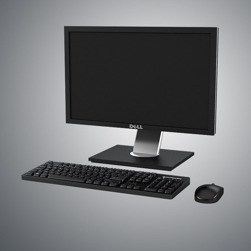 b Dell screen monitor lcd keyboard mouse.jpg