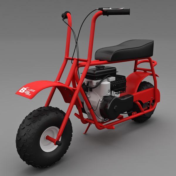 Baja Doodle Bug Mini Bike 97cc 3D Models
