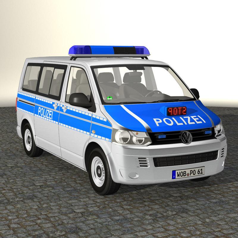 VW T5 Police 2011