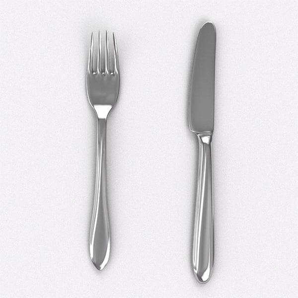 STL Finder | 3D models for knife fork
