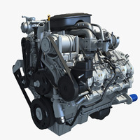 Diesel engine 3D models