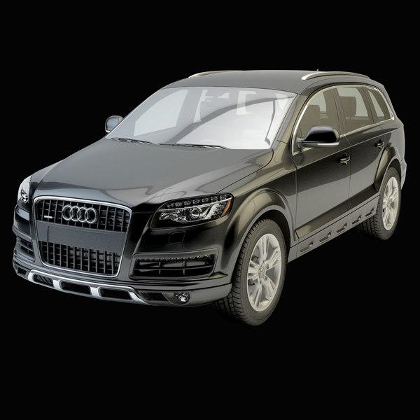 Audi Q7 3D Models