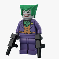 The Joker 3D models
