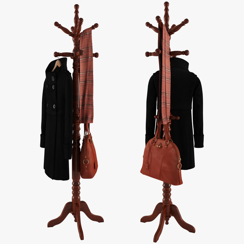 Rack With Coat On Hanger, Bag and Scarf.jpg