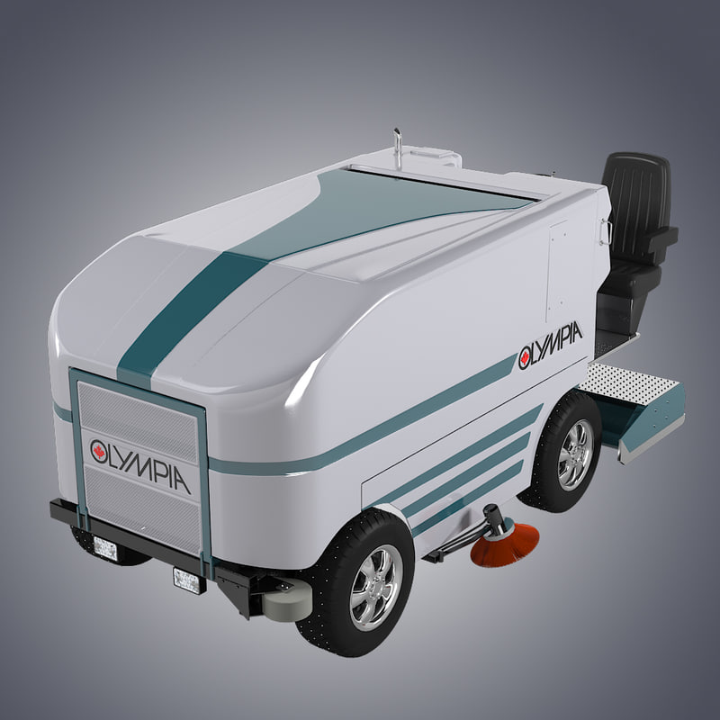 b Olimpia Millenium Resurfacer ice resurface celaning paint zamboni game hockey truck car trailer winter sport arena service equipment skating-rink.jpg