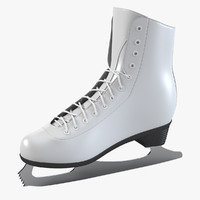 ice skating 3d models