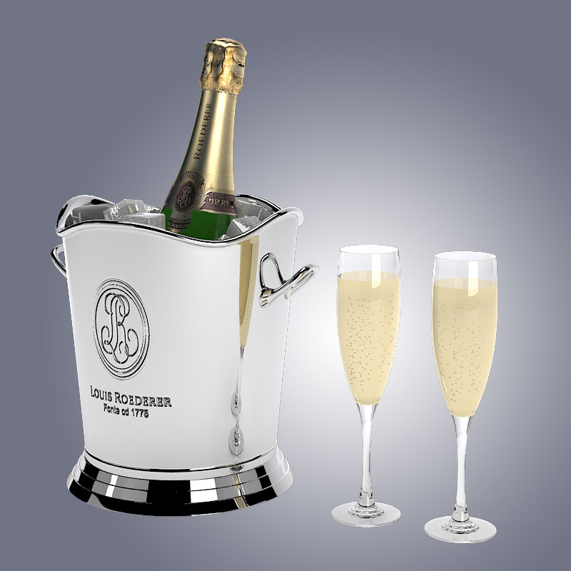 b champagne in ice bucket cooling glass champange louis roederer sparkling vine elite luxury moet.jpg