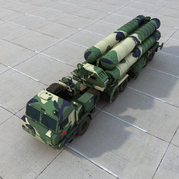 S-400 SAM 3D Models